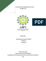 Laporan Praktikum Mikrobiologi-Sterilisasi
