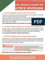 Trois choses à savoir sur Patrick Devedjian
