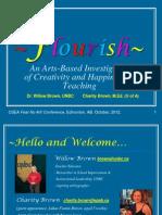 Flourish Presentation for CSEA 2012