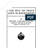 The Way of Peace and Blessedness - by Swami Paramananda