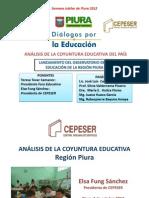 ANÁLISIS DE LA COYUNTURA EDUCATIVA