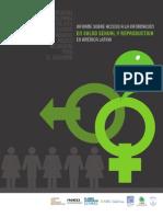 Informe sobre acceso a la información en Salud Sexual y Reproductiva en América Latina