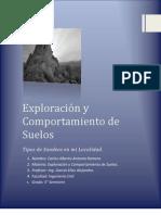 Tipos de Sondeos en Poza Rica