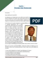 La Danse Des Quidams Par Leslie Pean - 21 octobre 2012