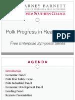 Polk Progress in Real Estate