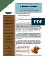 November 2012 Newsletter FINAL