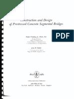 Construction and Design of Prestressed Concrete Segmental Bridges