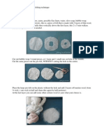 Tutorial felting a 3 D Rose Part 1, English Version