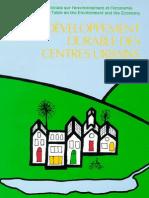 Developpement Durable Centres Urbains