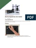 Porta Bijuterias - Com Papel Laminado