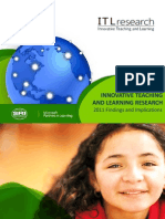 Itl Research 2012_ Innovative Teaching and Learning Research, 2011 Findings and Implications [Report]