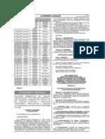Medidas de Control de Los Insumos Químicos y Productos Fiscalizados, Maquinarias y Equipos Utilizados para la Elaboración de Drogas Ilícitas - Decreto Legislativo 1126