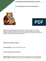1301 Acatistul Maicii Domnului La Icoana Plangtoare de La Boian 25 Septembrie