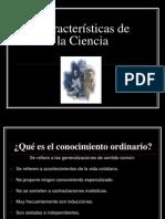 CARACTERÍSITCAS DE LA CIENCIA