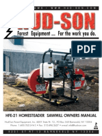 Sawmill Owners Manual HFE-21- 2012- Revised