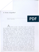 BOURDIEU, Pierre - A Ilusão biográfica in Usos & abusos da história oral(1)