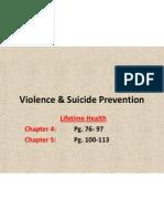 violence  suicide prevention