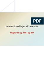 unintentional injury prevention 9