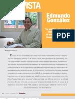 """Entrevista Edmundo González Urrutia """"La política exterior de la Unidad promoverá el interés nacional y el desarrollo económico"""""""