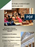 Diapositivas exposición monarquia parlamentaria española