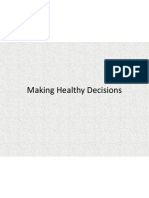 making healthy decisions 9