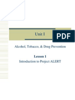 unit i alcohol tobacco drug prevention
