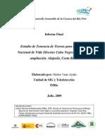 """""""Estudio de Tenencia de Tierras para el Refugio Nacional de Vida Silvestre Caño Negro y su posible ampliación. Alajuela, Costa Rica"""""""