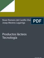 Productos Lacteos, Tecnologia - Mestres  Lagarriga