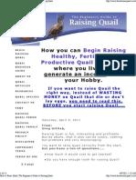 How to Raise Quail _ the Beginner's Guide to Raising Quail