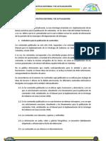 POLÍTICA EDITORIAL Y DE ACTUALIZACIÓN