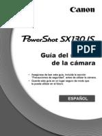 Manual Camara Powershot SX130