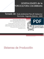 Generalidades Porcicultura Colombiana