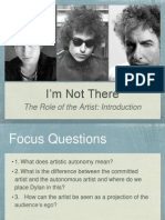 7 - The Role of the Artist - Intro