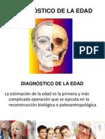 DIAGNÓSTICO DE LA EDAD