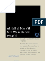 73923323 Tawassul and Waseelah Proof for Permissibility