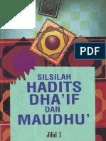 eBook - Silsilah Hadits Dhaif Dan Maudhu Jilid I
