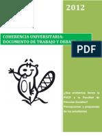 Documento de Trabajo y Debate #2. ¿Qué problemas tienen la PUCP y la Facultad de Ciencias Sociales? Percepciones y propuestas de los estudiantes