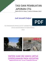 RSPAD FKUI OBGIN CTG Interpretasi & Pembuatan Laporan, JJE 20121029 Versi Internet