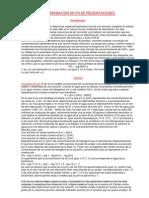 Determinacion de Ph de Presentaciones