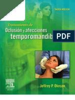 2008 Oclusión Okeson Sexta Edicion