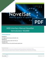 Novel Sat NS2000 Web UG