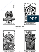 image about Printable Tarot identified as Get in touch with of Cthulhu - H.P.lovecraft Tarot Deck Actively playing Playing cards