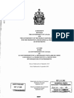 Canada-China FIPA and Explanatory Memorandum 8532-411-46(OCR)