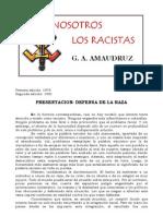 G. a. Aumaudruz- Nosotros Los Racistas