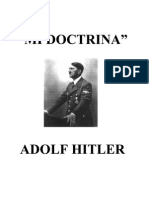Adolf Hitler -  Mi doctrina