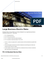 Large Business Tariffs