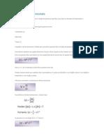 Fórmulas Dimencionais