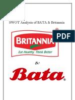 SWOT Analysis of BATA Word File