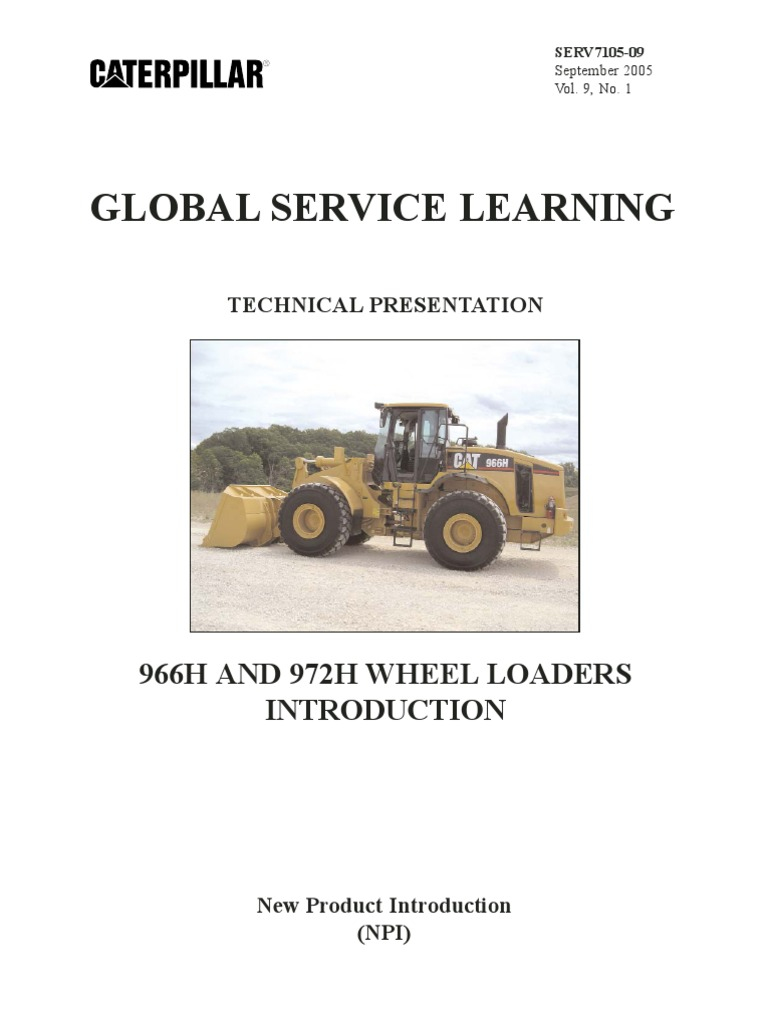 curso cat 966h 972h stmg valve pump rh scribd com cat 966g service manual caterpillar 966h service manual