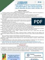 Informativo o Consolador Nov 2012